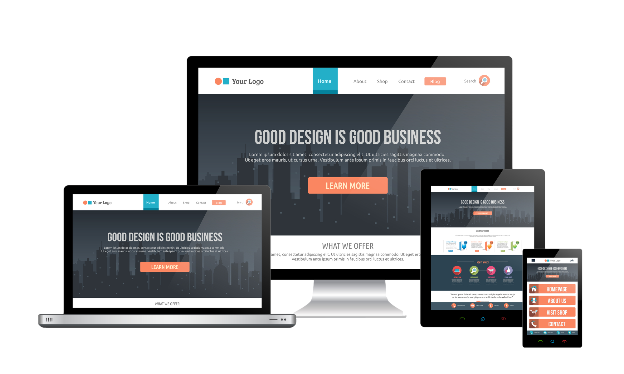 Are you after a website design company that provides flexibility in design?