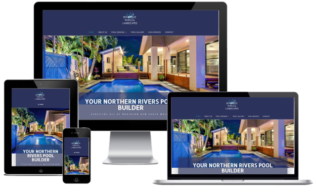recently completed website design for a business located in the Northern Rivers.